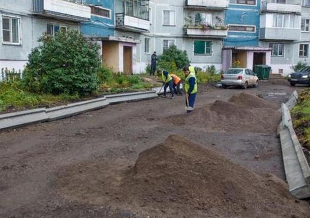 68камер смотрят заблагоустройством дворов вНовокузнецке